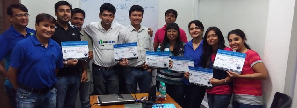 Corporate workshop on digital marketing by seven boats academy