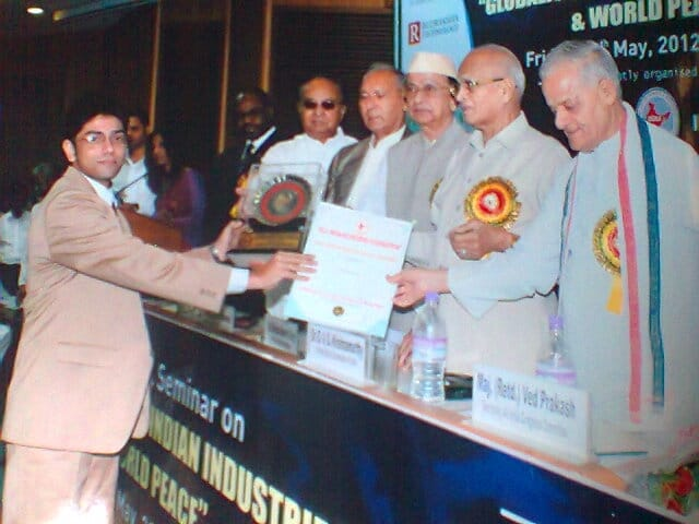 Instructors 49 - India Leadership Award For Industrial Development Debajyoti Banerjee Seven Boats Info System