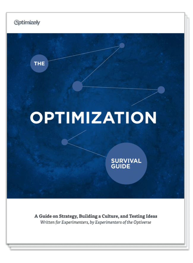 Optimizely ebook cover image