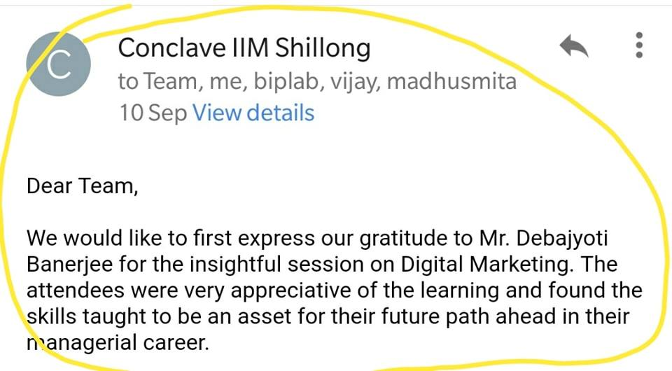 Instructors 85 - iim shillong