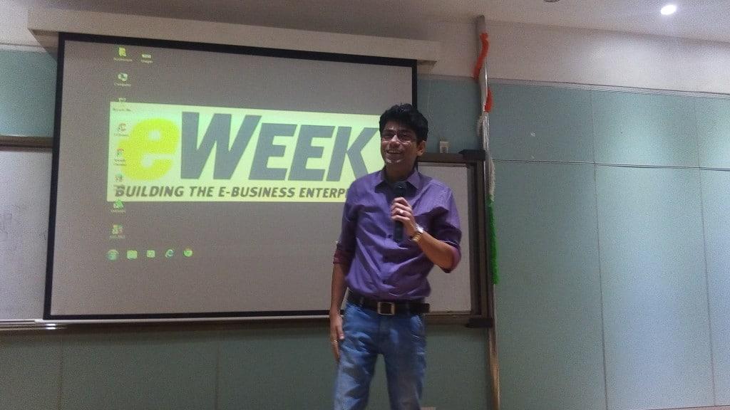 Guest Speaking on Digital Marketing At United World School of Business, Kolkata