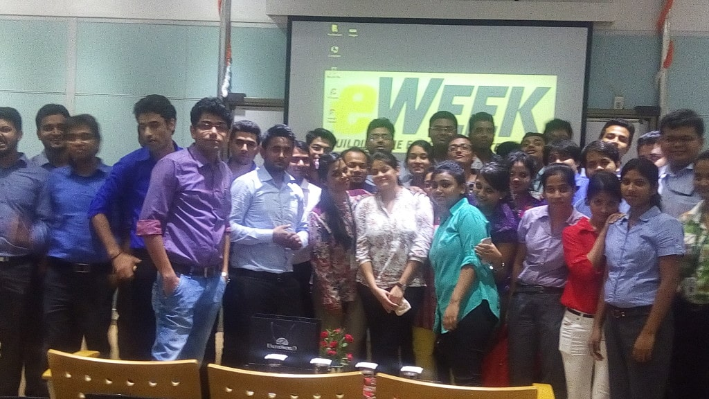 Digital Marketing Guest Session at United World Business School - Seven Boats - Digital Marketing Company, India