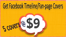 Buy Facebook timeline and fan-page cover designs at cheap price but good quality