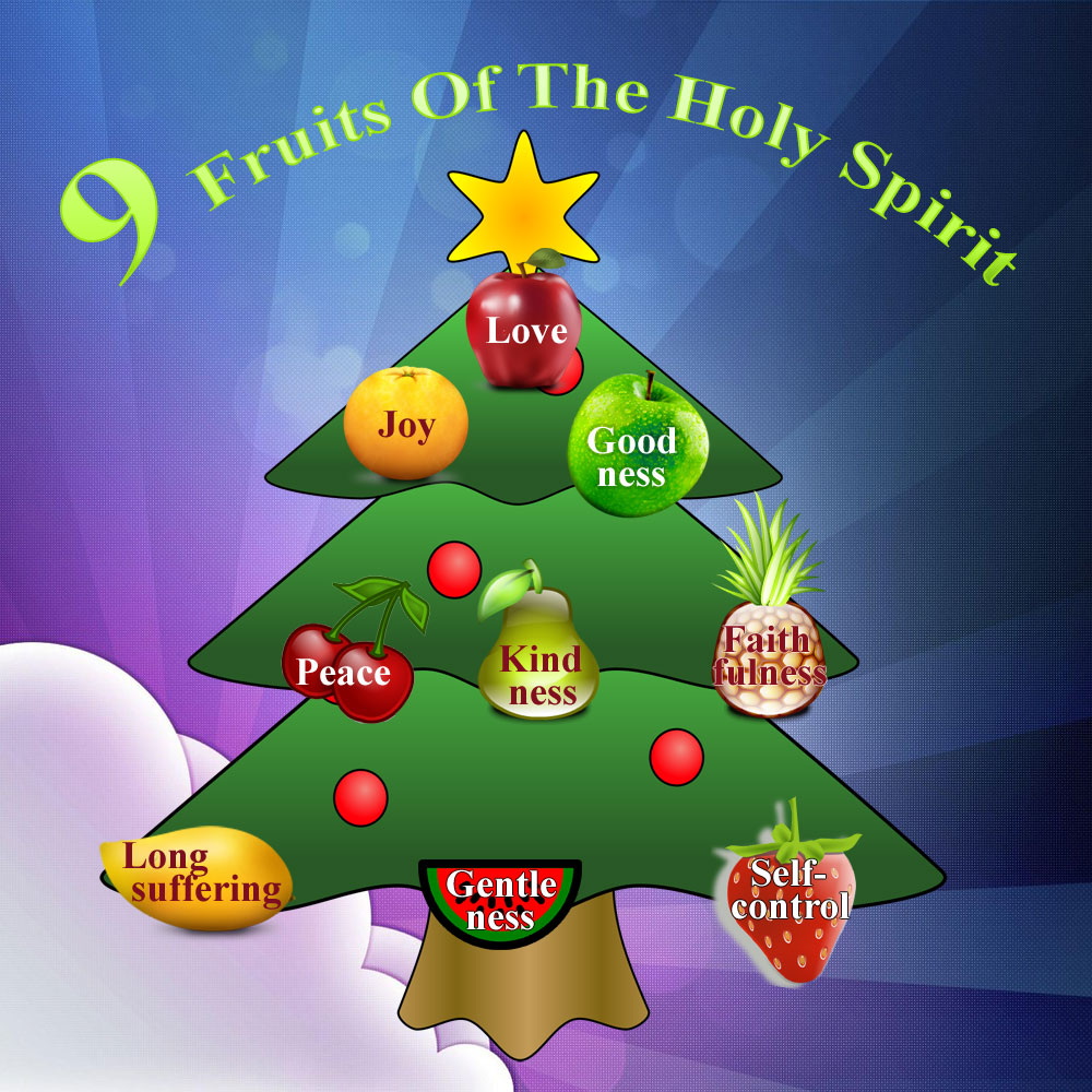 Infographics Designed by 7boats 91 - 9 Fruits Of The Holy Spirit infographics
