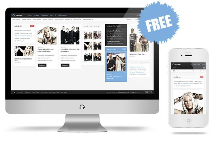 Fresh High-Quality Joomla Shopping Cart Templates 1 - responsive template 7