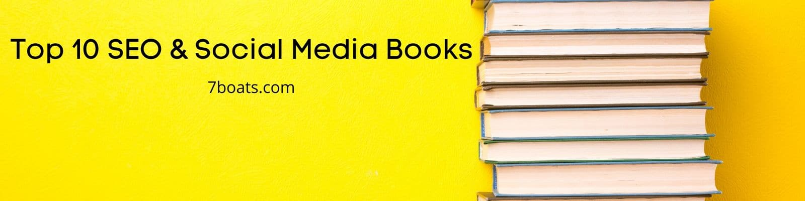 Best SEO Books & Social Media Books