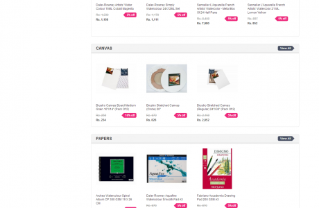 Creativehands.in ecommerce SEO by Seven Boats