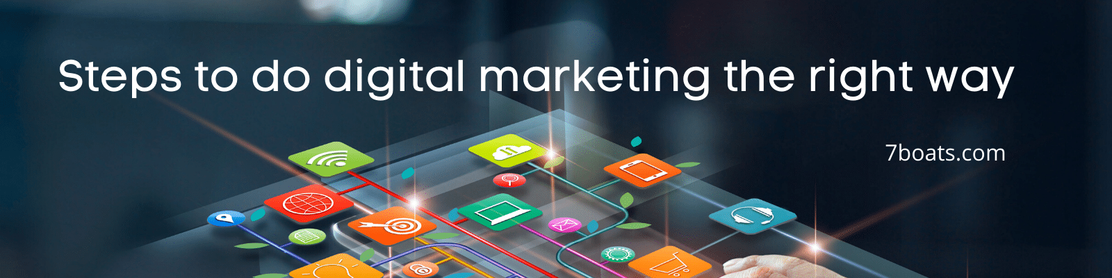 How to do digital marketing the right way? - The steps in digital marketing
