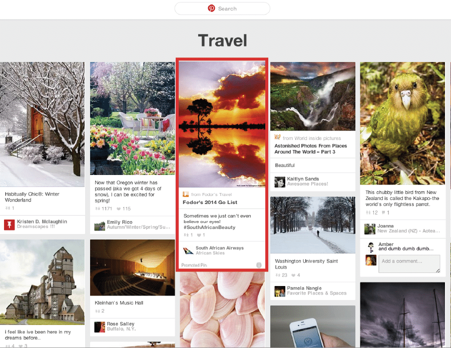 pinterest - top digital marketing predictions for 2015