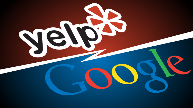 yelp ad campaign against google's unfair ranking
