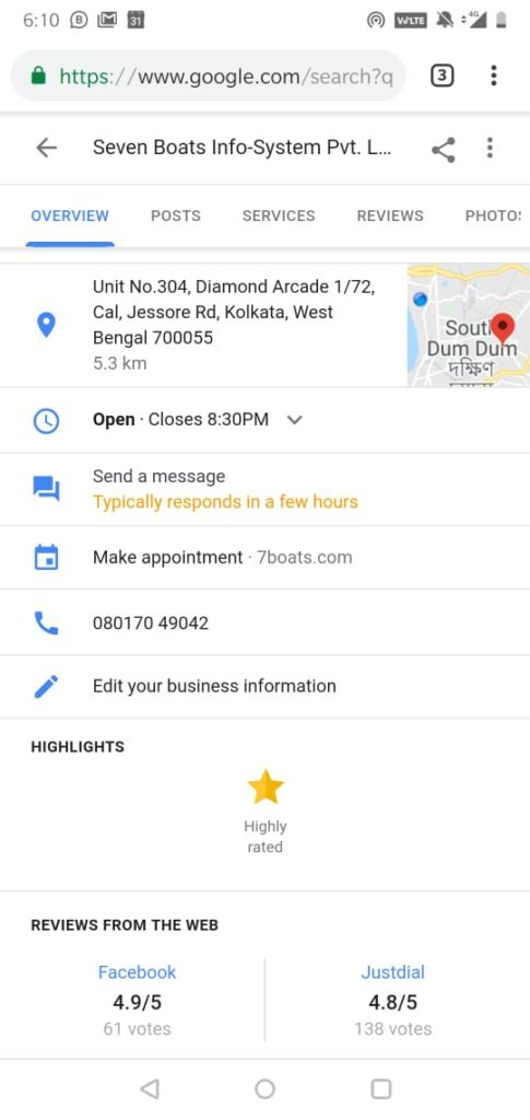 Business Messaging Now Possible on Google Maps 3 - WhatsApp Image 2018 12 13 at 6.11.32 PM