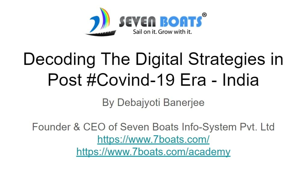 Digital marketing strategies in post covid-19 era