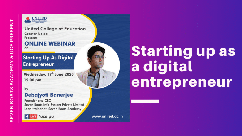 digital entrepreneur and digital entrepreneurship
