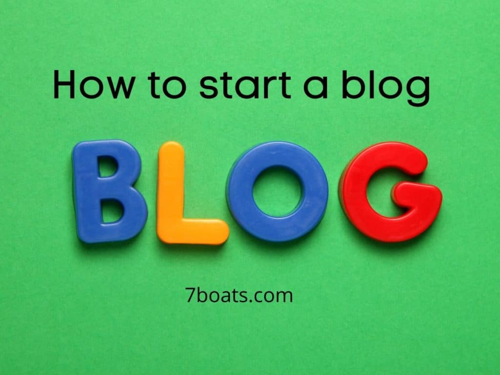 blogging guide- how to start a blog