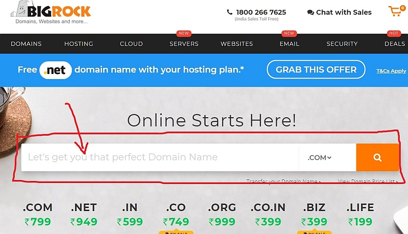 select a domain name - blogging guide