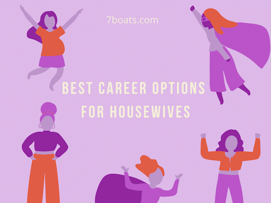 best career options for indian housewives