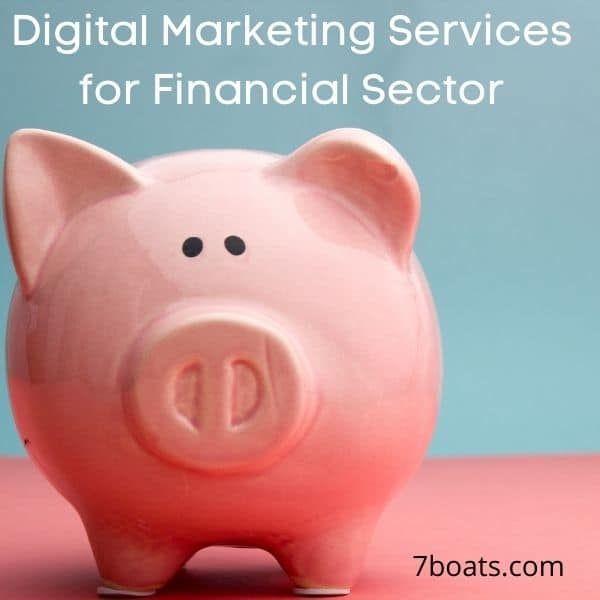 digital marketing services for financial sector
