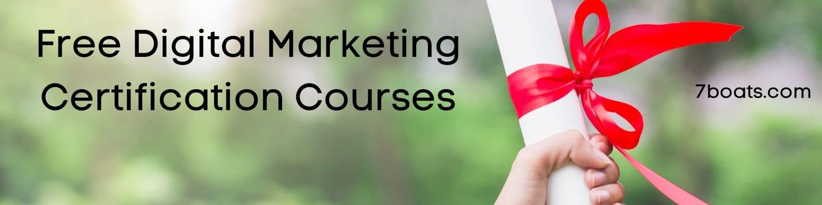 Best Free Digital Marketing Certification Courses