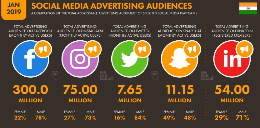 India and the Growth of Internet Marketing (Digital Marketing) 11 - Social media Advertising Audiences