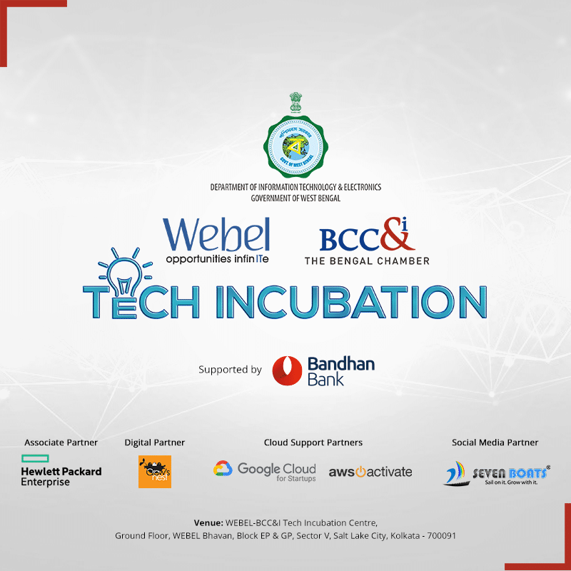 Tech incubation centre in Kolkata - Seven Boats has partnered with Webel-BCC&I Tech Incubation Centre in Kolkata to offer startup entrepreneurs incubation support, mentoring, networking support, technology support and more.