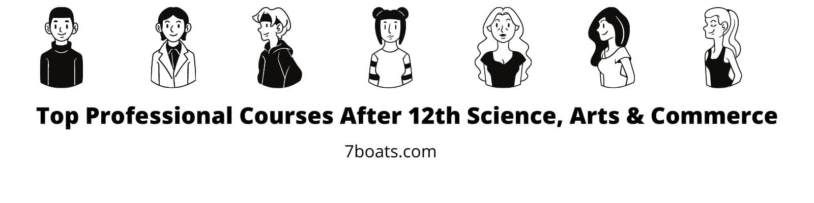 Top Professional Courses After 12th Science, Arts & Commerce - 7boats